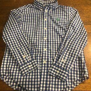 Ralph Lauren Chaps Boys Button Up Shirt.